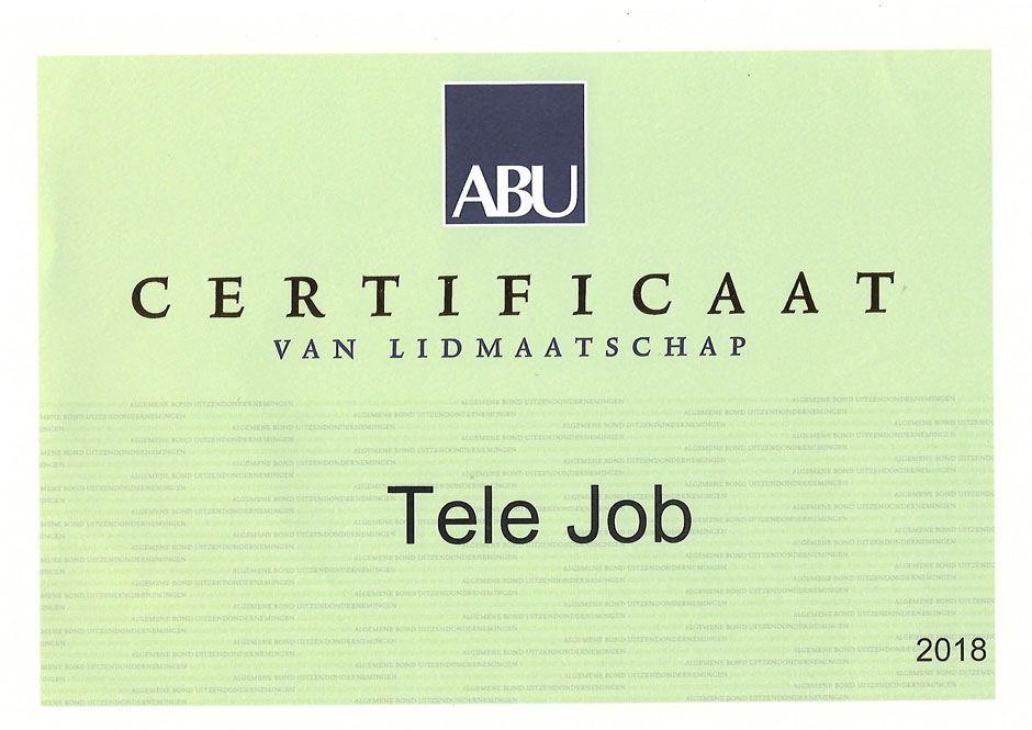 ABU-certificaat-2018